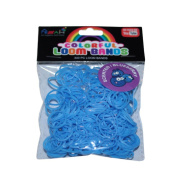 ASAH Scented Loom Bands 300pce with 16 S Clips - Blueberry