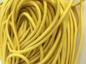 Yellow Elastic Stretch Shock Cord 3mm 20 yards 18 metre