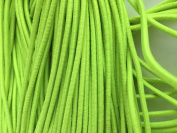 Neon Yellow Elastic Stretch Shock Cord 3mm 20 yards 18 metre