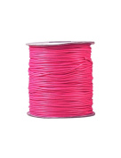FreshHear Pack of 1 for 170m Korea Waxed Cotton Cord Colour Rose Red Size 1.5x1.5mm