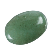 "2pcs AAA Natural Green Aventurine Oval Cabochon Flatback Gemstone beads 20x15mm or 7.87""x5.91"" #GN32"