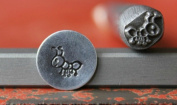 Supply Guy 7mm Ant Metal Punch Design Stamp 375-123
