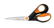 Fiskars 20cm Razor-Edge Softgrip Bent Scissors