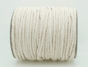 3mm Natural White Cotton Twisted Cord Craft Macrame Artisan String
