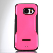 Galaxy S7 Case,XRPow [Colourful series] S7 Phone Armour Cover Case Hybrid Gel Shock Absorbing Case Defender Case for Samsung Galaxy S7