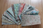 100pcs/pack 13*21cm Multi-patterns Gift Wrapper Handmade Soap Wrapping Paper Oil Wax Packaging Papers