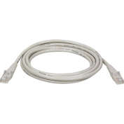 Tripp Lite N001-015-GY Patch cable - RJ-45 (M) - RJ-45 (M) - 4.6m - UTP - CAT 5e - snagless, booted - grey