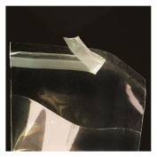 5.1cm . X 7.6cm . Flat Cellophane Bags with Adhesive Closure - pack of 200
