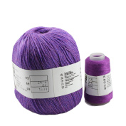 Celine lin Super Soft Pure Cashmere knitting Yarn 70g for Hand & Machine Knitting,Purple