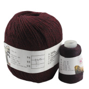 Celine lin Super Soft Pure Cashmere knitting Yarn 70g for Hand & Machine Knitting,Rust red