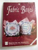 Cross stitch Fabric Boxes by Designs For the Needle-- #6511 Friends