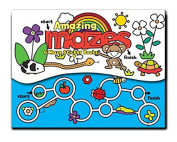 Amazing Mazes Mini Sticker Book Set With Magnetic Opening