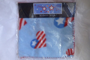 American Heart 30 by 30 Blue Baby Fleece Blanket