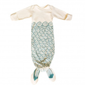Baby Ultralight Sleep Sack Long Sleeve Funny Mermaid Tail & Shark Sleeping Bags (M