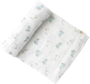 Pehr Designs Tiny Bunny Swaddle, Mist