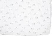 Pehr Designs Tiny Bunny Crib Sheet, Mist