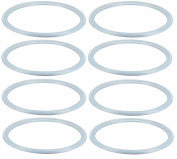 Sealing Rings Silicone Rings for Nenesupply Wide-Neck Breastmilk Collection Bottle Cap Storage Bottle Cap and Nenesupply Breastpump Conversion Kit Breastpump Converter