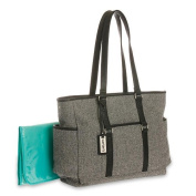 Carter's Herringbone Black Nappy Bag