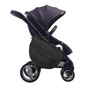 Grab and go Stroller Saddlebag Push cart storage bag. Baby trolley Nappy bag