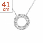 Liara - Round Necklace. Polished and Nickel Free