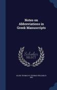 Notes on Abbreviations in Greek Manuscripts