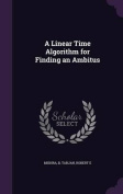A Linear Time Algorithm for Finding an Ambitus