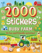 2000 Stickers Busy Farm
