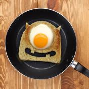 Fred & Friends Egg Monster Bread Cutter, Green
