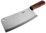 Winco Heavy Duty Cleaver with Wooden Handle, New.
