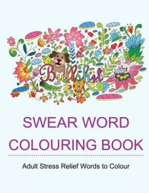 Swear Word Colouring Book Fishpondconz Books Star Coloring Adult 9781530185092