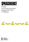 Sprachkunst. Beitrage Zur Literaturwissenschaft / Sprachkunst Jahrgang XLIV/201, 2. Halbband [RUS]