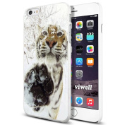 iPhone 6s Case Viwell iPhone 6/6s (12cm ) Case, 2015 Unique Design fashionable Protective Cover Tiger on the snow