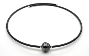 UNIQUE UNISEX TAHITIAN AND AKOYA CULTURED PEARL WRAP-AROUND NECKLACE