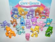 Care Bears Deluxe Figure Set of 12 with Baby Wonderheart Bear, Harmony Bear, Good Luck Bear, Wish Bear, Share Bear and Many More!
