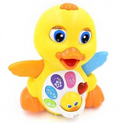 TOYK Musical Duck toy Lights Action With Adjustable Sound