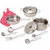 ALEX Toys Super Cooking Set Includes Everything Your Little Chef needs to Prepare Fancy Meals