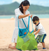 Aishine Beach Mesh Bag Sand Away Carrier Tote (Swim, Toys, Boating, Etc.) Stay Away From Sand -XL Size