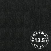 Polymat Audio 0.9m * 140cm Wide Black Sub Woofer Speaker Box Enclosure Carpet and Trunk Latex Backed Liner