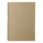 MUJI JAPAN Recycled Paper Monthly Kraft Note A5 - Monthly