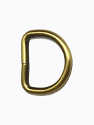 D Ring 3cm Heavy Welded Antique Brass Set of 2 Pcs.