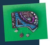 ArtEmboss Light-Weight Aluminium Sheet, 23cm X 30cm , Matte Black, Pack of 12