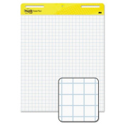 Post-it Easel Pads - Self-Stick Easel Pads, Quad Rule, 25 x 30, White, 2 30-Sheet Pads/Carton 560 (DMi CT