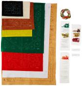 BUCILLA 86541 Plaid Santa's Toy Shop Felt Applique Advent Calendar Kit, 28cm By 70cm