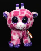 "New TY Beanie Boos Cute Twigs the pink giraffe Plush Toys 6"" 15cm Ty Plush Animals Big Eyes Eyed Stuffed Animal Soft Toys for Kids Gifts"