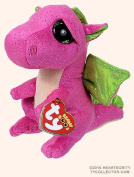 "New TY Beanie Boos Cute Darla the dragon Plush Toys 6"" 15cm Ty Plush Animals Big Eyes Eyed Stuffed Animal Soft Toys for Kids Gifts"