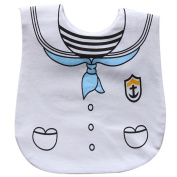 FEITONG Lovely New Kids Toddlers Cartoon Cotton Waterproof Bibs