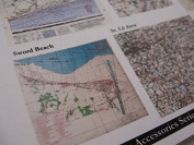 Reality In Scale 1:35 War Maps WWII Printed Ultra Thin 50gr Paper #35049