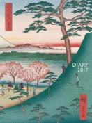 Japanese Woodblocks pocket diary 2017