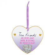 Me to You Tatty Teddy Friends Heart Sentiment MDF Plaque Gift