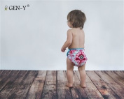 GEN-Y Universal Nappy Wrap - French Wallpaper Size 2